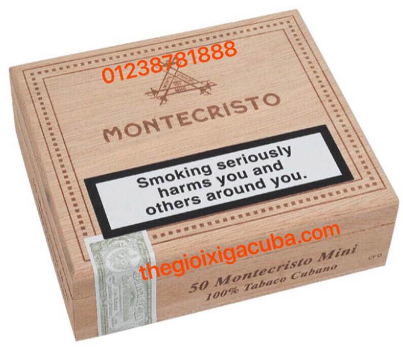 Xì Gà Dòng Noble MONTECRISTO MINI (50S)