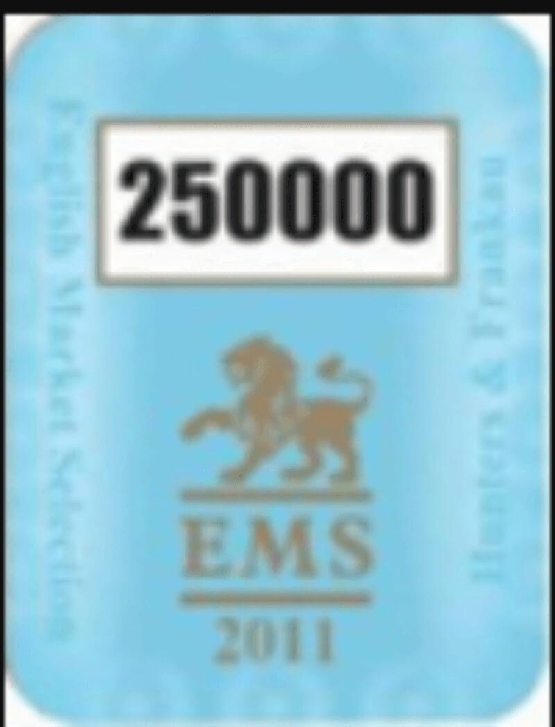 Mẫu EMS 2011