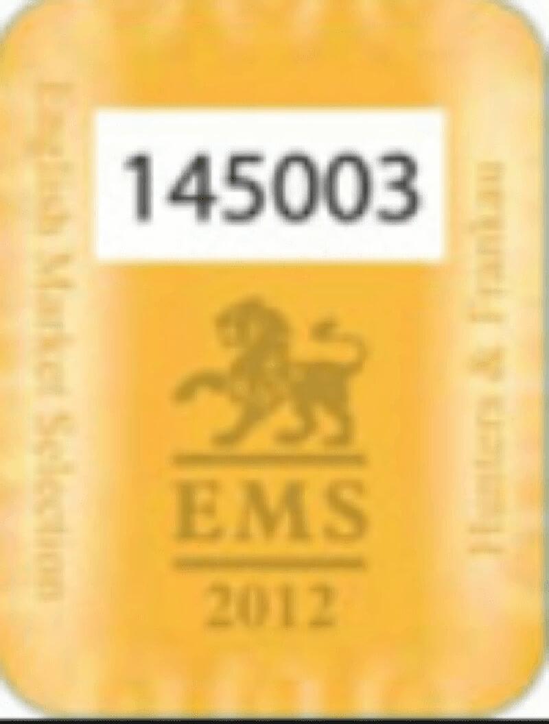 Mẫu EMS 2012