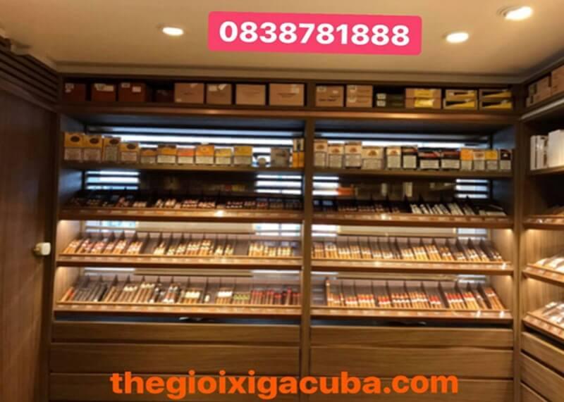 Tìm hiểu xì gà mini tại Thế giới xì gà cuba