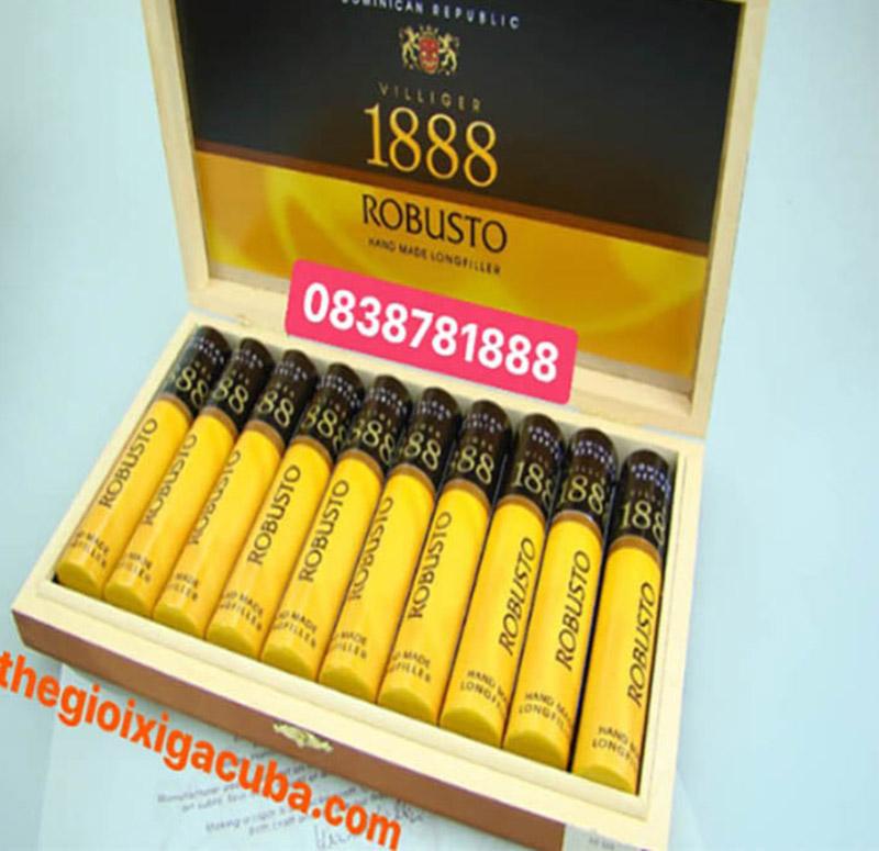 Xì gà 1888 ROBUSTO TUBOS (10S)