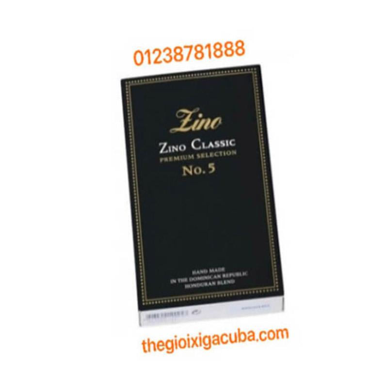 Xì Gà Dòng Noble ZINO CLASSIC NO.5 ( HỘP 20 ĐIẾU)