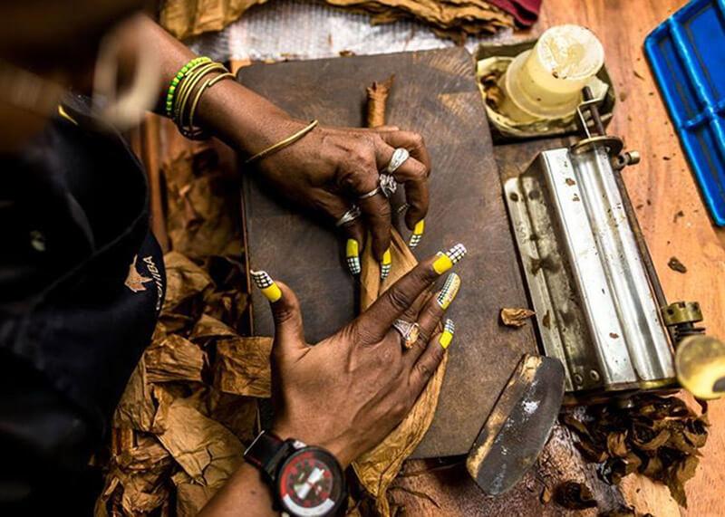 Xì gà quấn tay và xì gà quấn máy khác nhau thế nào?